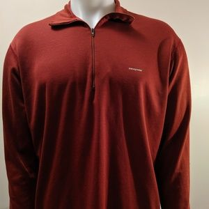 L Patagonia Half Zip sweater